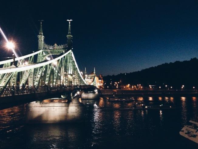 Frihedsbroen by night